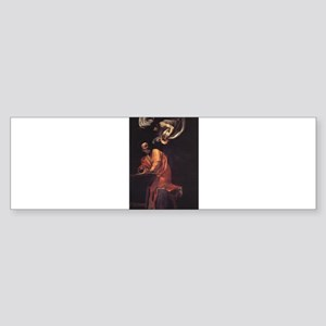 The Inspiration of Saint Matt Sticker (Bumper)