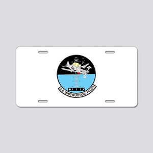 T-6 INSTRUCTOR PILOT Aluminum License Plate