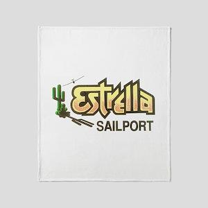 ESTRELLA SAILPORT Throw Blanket