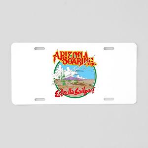ESTRELLA SAILPORT Aluminum License Plate