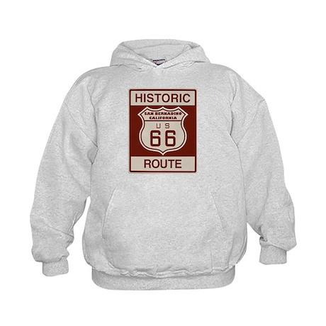 San Bernardino Route 66 Kids Hoodie
