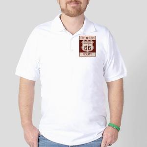 San Bernardino Route 66 Golf Shirt