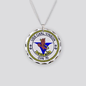 USS STENNIS Necklace Circle Charm