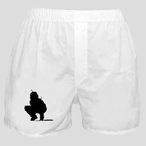 CATCHER {1} : solid Boxer Shorts