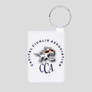 CCA Aluminum Photo Keychain