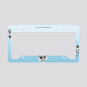Bubblypumpkin License Plate Holder