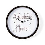 Arrowhead Hunting Wall Clock