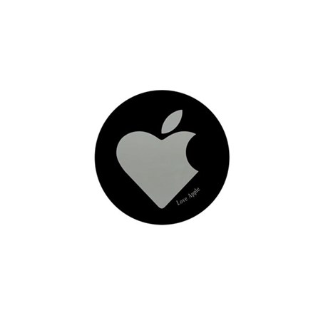 Love Apple Mini Button