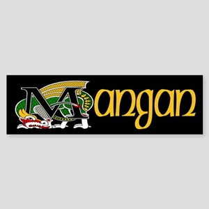 Mangan Celtic Dragon Bumper Sticker
