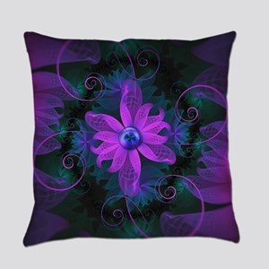 Beautiful Ultraviolet Lilac Orchid Everyday Pillow