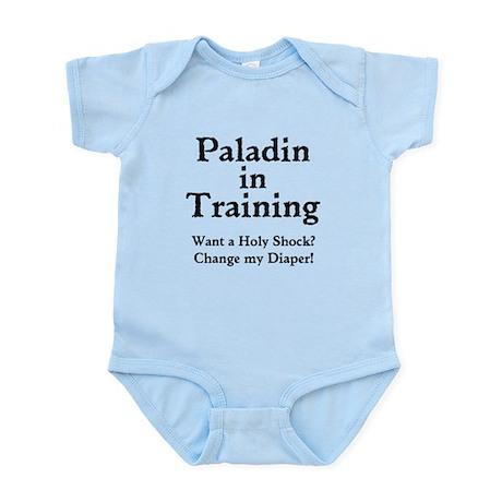 Gaming Paladin in Training Infant Bodysuit