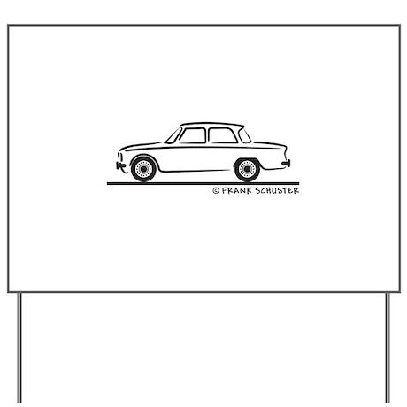 Alfa Romeo Giulia Yard Sign by FrankSchuster