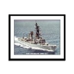 USS COCHRANE Framed Panel Print