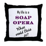 What Would Olivia Do? Throw Pillow