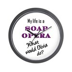What Would Olivia Do? Wall Clock