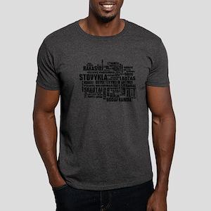 Stovykla Rakas Terms Dark T-Shirt