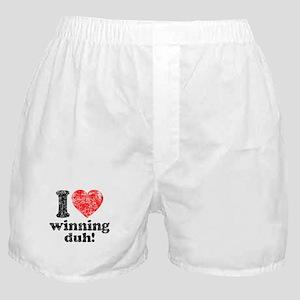 I Love Winning Boxer Shorts