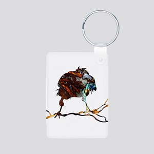 Mad Raven Aluminum Photo Keychain