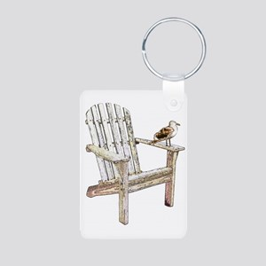 Adirondack Chair Aluminum Photo Keychain