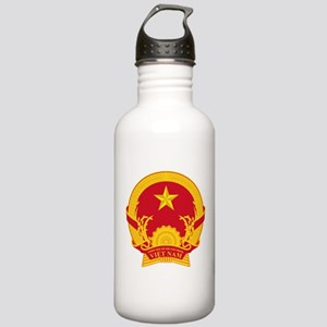 Vietname Coat of Arms Stainless Water Bottle 1.0L