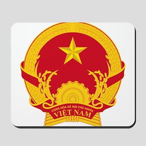 Vietname Coat of Arms Mousepad