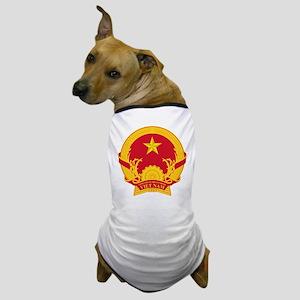 Vietname Coat of Arms Dog T-Shirt