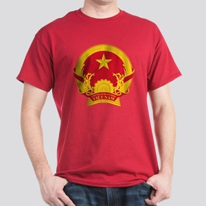Vietname Coat of Arms Dark T-Shirt