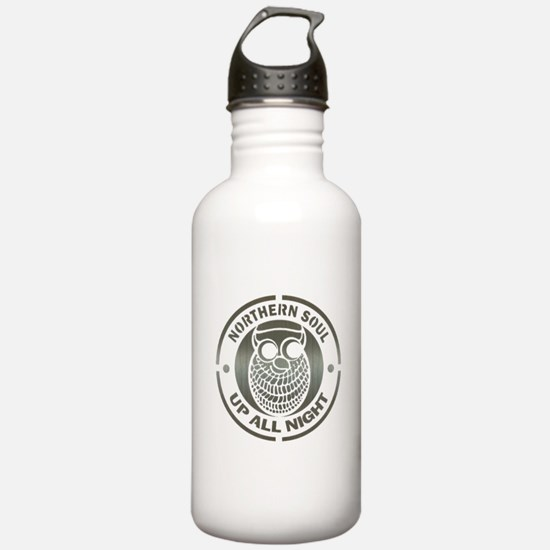 Northern Soul up all night ow Water Bottle