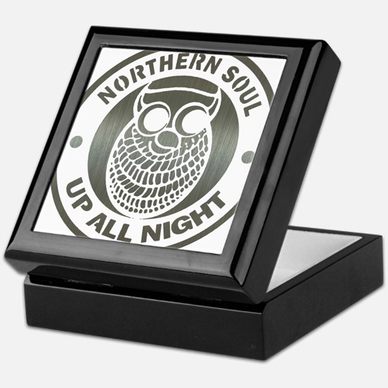 Northern Soul up all night ow Keepsake Box