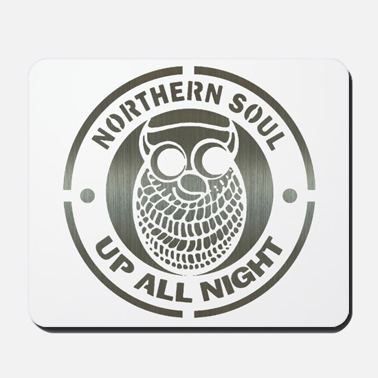 Northern Soul up all night ow Mousepad