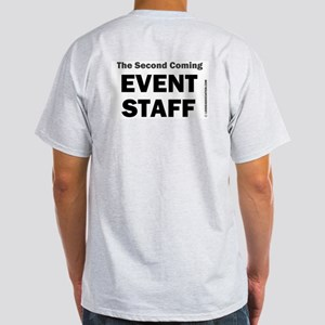 2nd Coming Event Staff Ash Grey T-Shirt