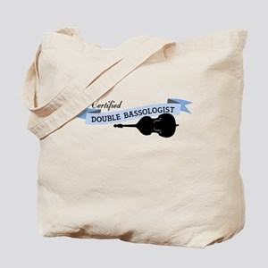 Double Bassologist Tote Bag