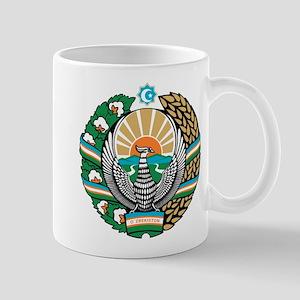 Uzbekistan Coat of Arms Mug