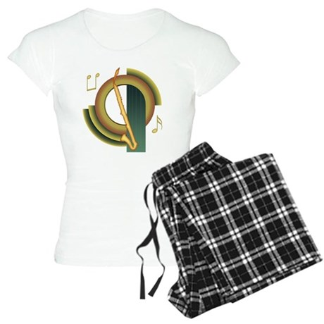 Alto Clarinet Deco Women's Light Pajamas