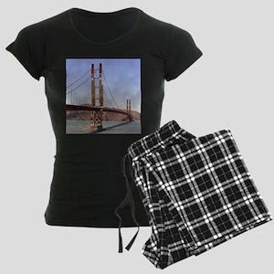 Bassoon Bridge - Women's Dark Pajamas