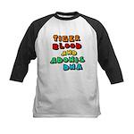 Tiger Blood Kids Baseball Jersey