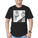 Buffalo Casino Men's Fitted T-Shirt (dark)