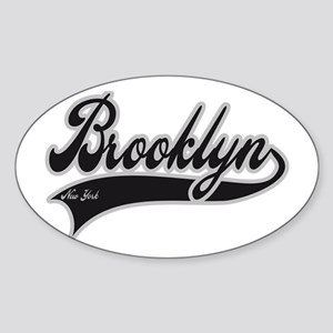 BROOKLYN NEW YORK Sticker (Oval)