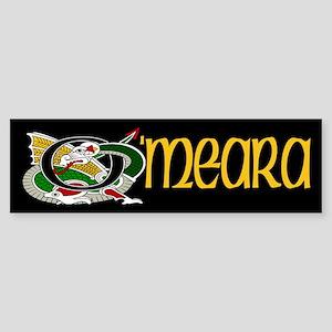 OMeara Celtic Dragon Bumper Sticker