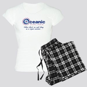 'Oceanic Airlines' Women's Light Pajamas