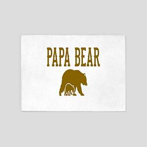 Papa Bear 5'x7'Area Rug