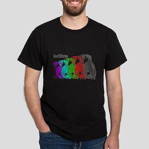 Barkface Warp Dark T-Shirt