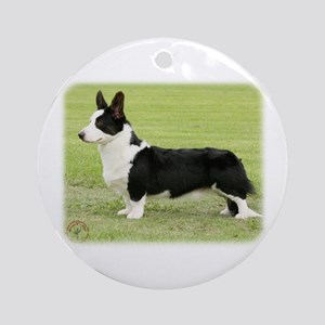 Welsh Corgi Cardigan 9Y501D-067 Ornament (Round)