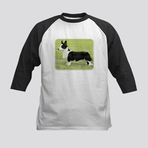 Welsh Corgi Cardigan 9Y501D-067 Kids Baseball Jers