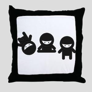 Like a Ninja Throw Pillow