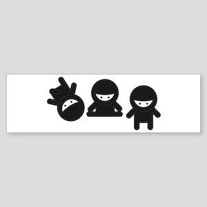 Like a Ninja Sticker (Bumper)