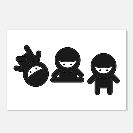 Like a Ninja Postcards (Package of 8)