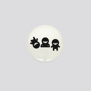 Like a Ninja Mini Button