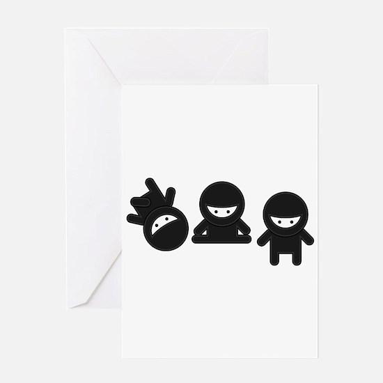 Like a Ninja Greeting Card