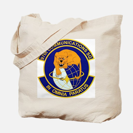 97th Communications Tote Bag